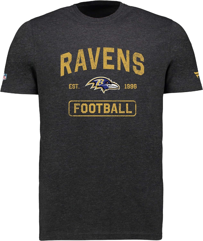 Fanatics NFL T-shirt de football NFL Baltimore Ravens Distressed