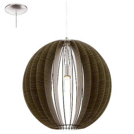 Eglo 94636 Lampada A Sospensione Colore Argento Amazon It