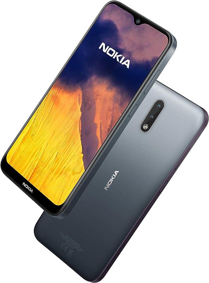 Nokia 2.3 Smartphone 6.2 Inch Android 2 GB RAM 32 GB (Dual-SIM) UK – Charcoal: Amazon.es: Electrónica