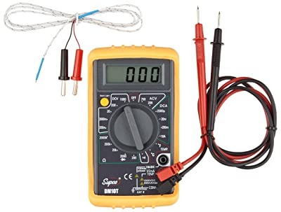 Supco DM10T Economy Digital Multimeter