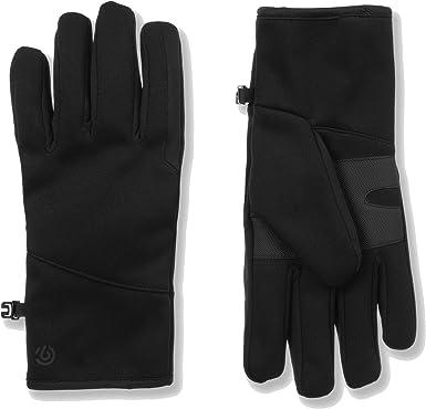 Mens WaterProof Reflective Zipper Pocket DuoDry Ski Gloves C9 Champion Size L//XL
