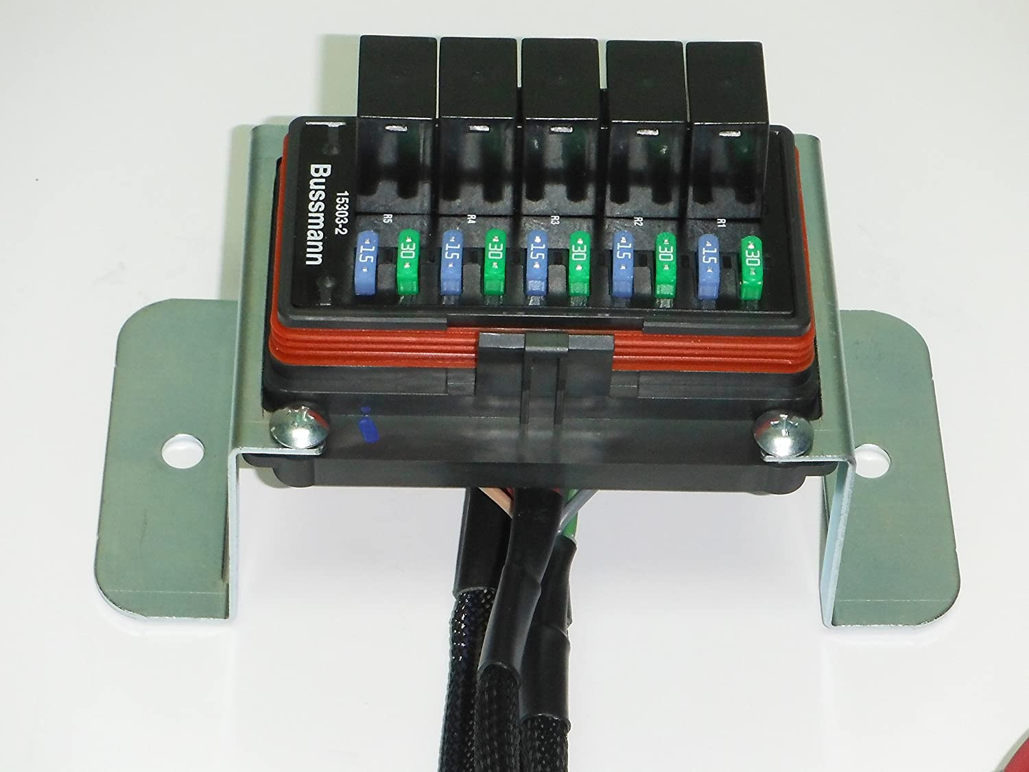 Concours Specialties Universal Waterproof Relay/Fuse Distribution Box  Cooper Bussmann w/Ground Block: Amazon.com: Industrial & Scientific