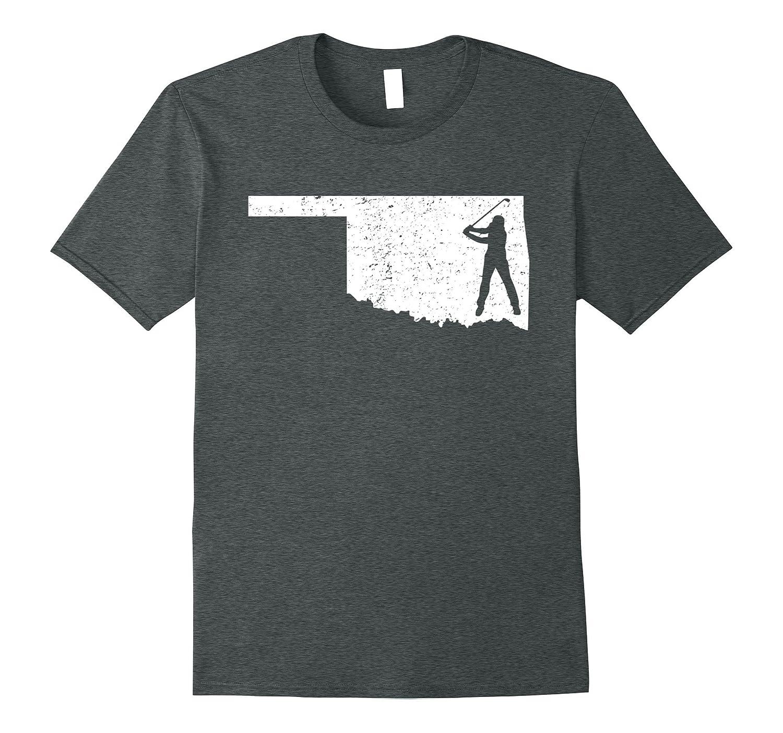 Oklahoma Golf Shirt Funny State Player Gift Love T-Shirt-TJ