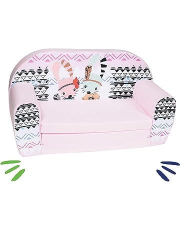 delsit Dt2 – 18366 sofá infantil, color rosa
