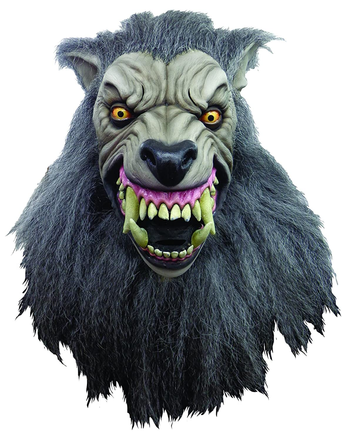 Amazon.com: An American Werewolf In London Full Adult Costume Mask ...