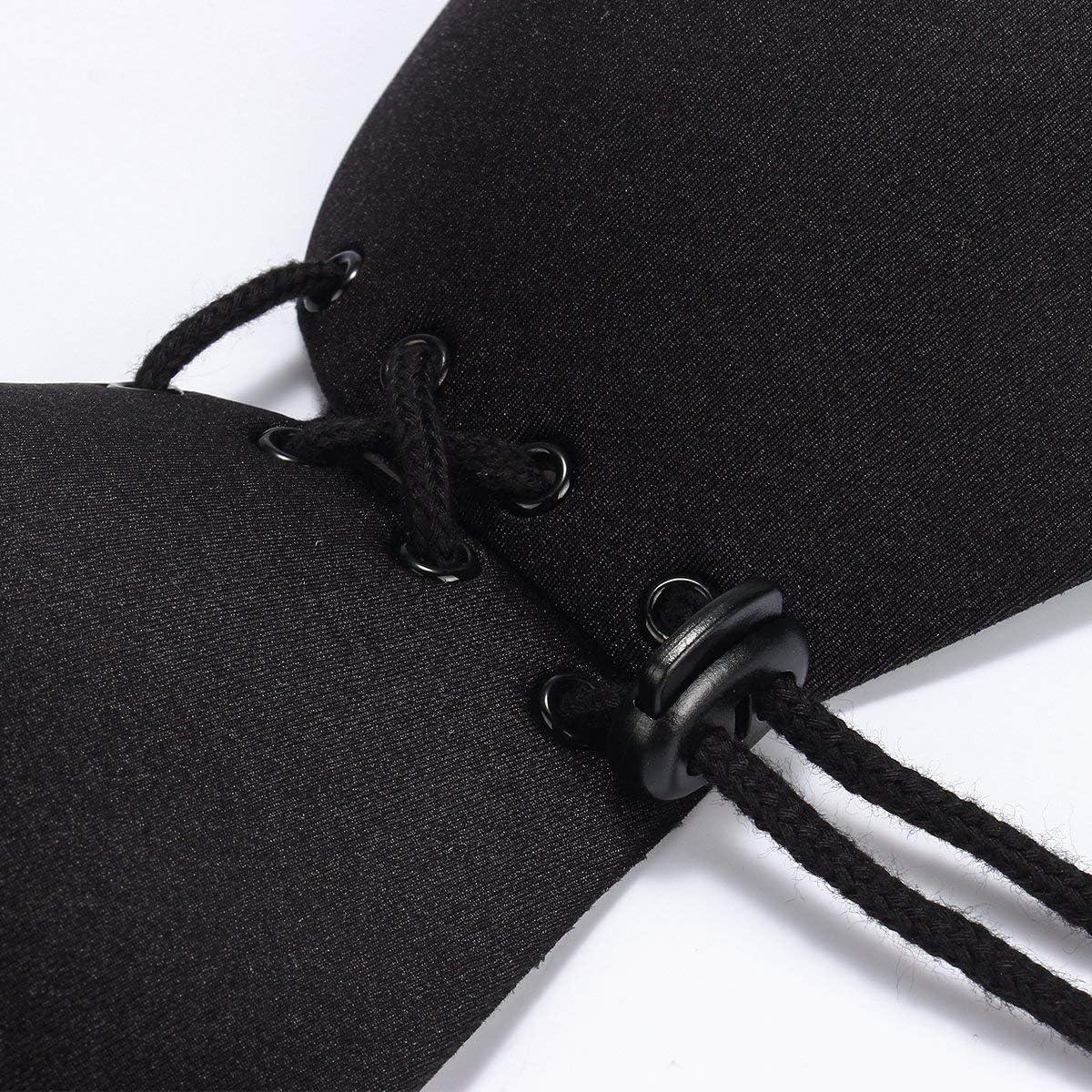 Push Up Breast e Riutilizzabile Adesivi Nipple Cover Fissaggi Invisibili Reggiseno Copricapezzoli da Donna Copricapezzoli di Silicone ZED
