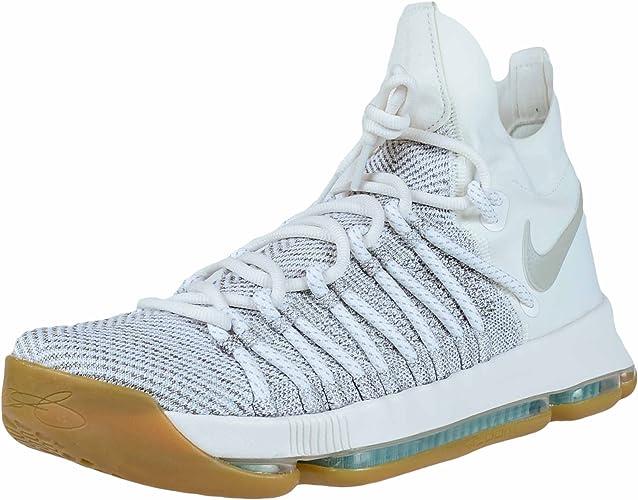 Zapatillas de baloncesto Nike Zoom KD9 Elite Pale Grey / Pale Gray ...