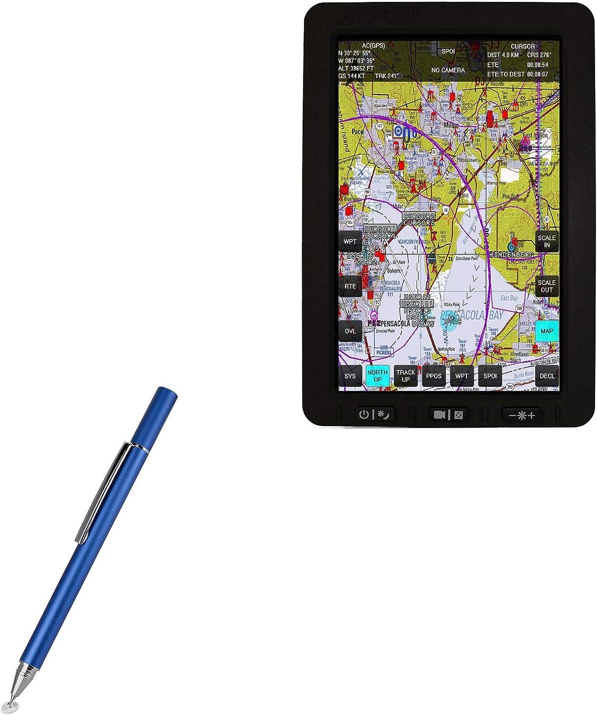 FineTouch Capacitive Stylus Super Precise Stylus Pen for Avalex AST3107 BoxWave Avalex AST3107 Stylus Pen Lunar Blue