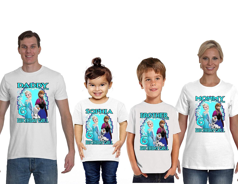 Elsa shirt with name