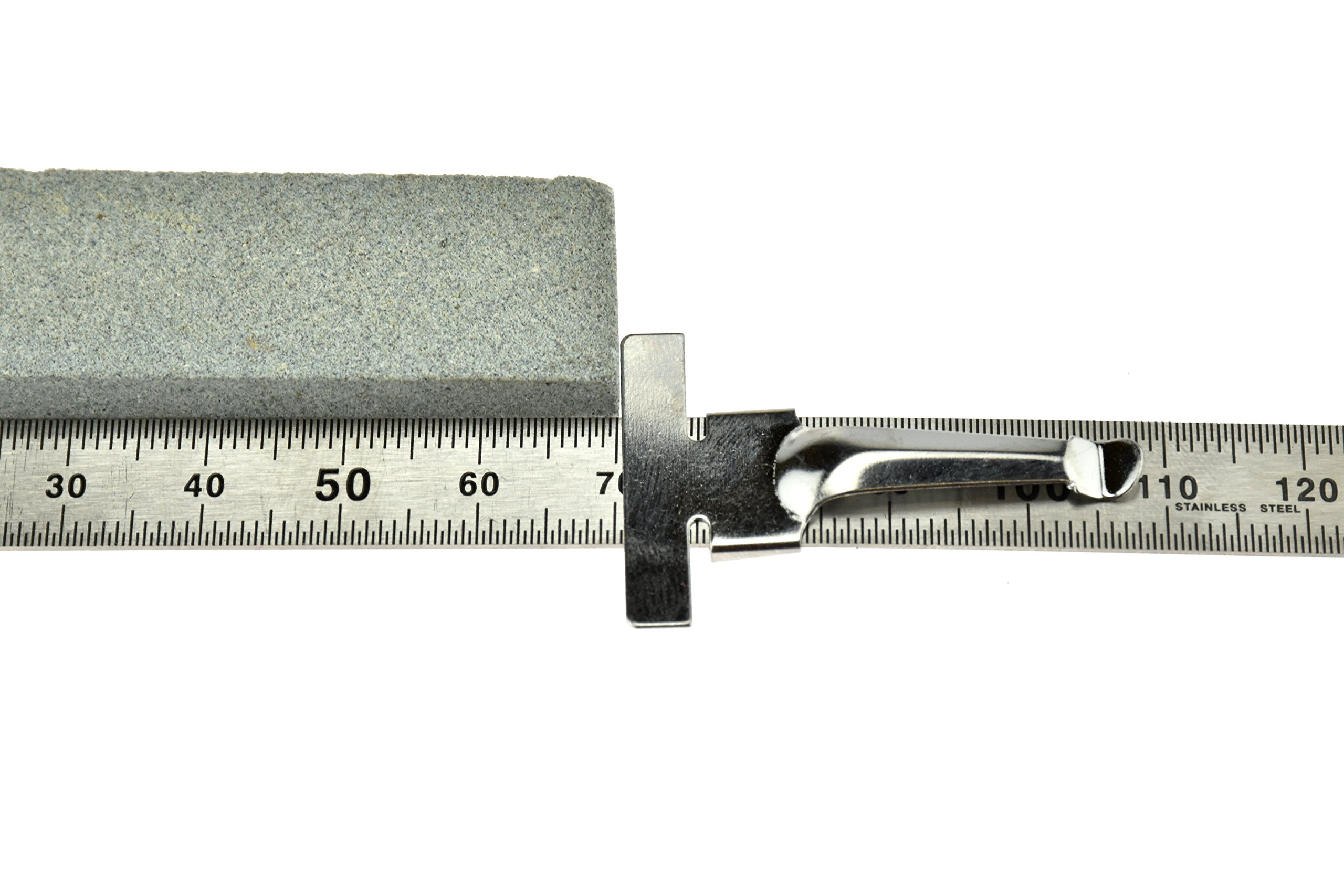 SE 925PSR-2 2-Piece Stainless Steel SAE and Metric Ruler Set with Detachable Clips by SE (Image #4)
