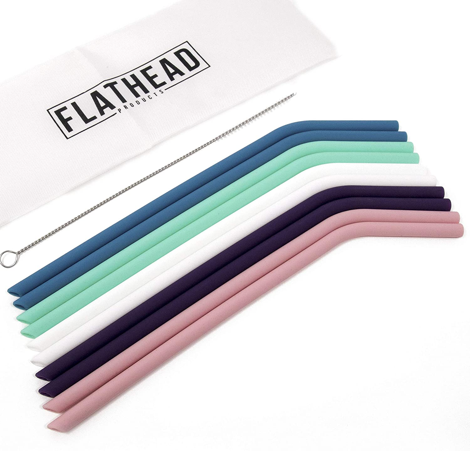 Reusable straws by flathead, great for travel