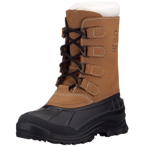 745e731fa07583 Kamik ALBORG Damen Warm gefütterte Schneestiefel  Amazon.de  Schuhe ...