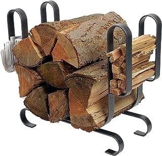 product image for Enclume Modern Log Rack, Large, Hammered Steel