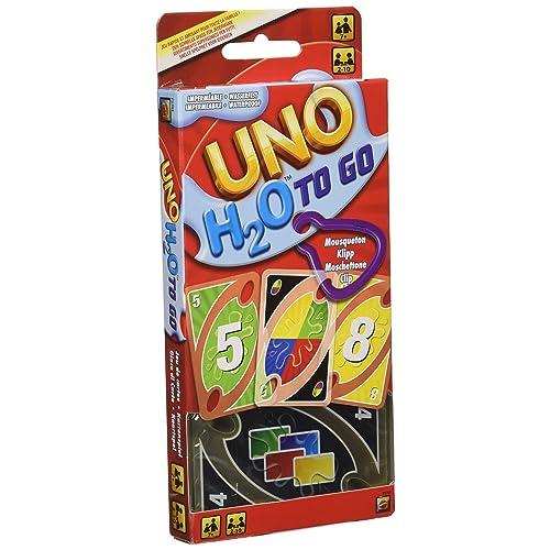 Mattel UNO H2O To Go H20 Juego de cartas Multicolor 7 P1703
