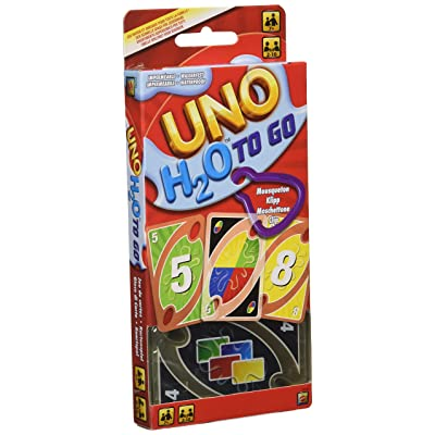 Uno H2O To Go Card Game: Toys & Games