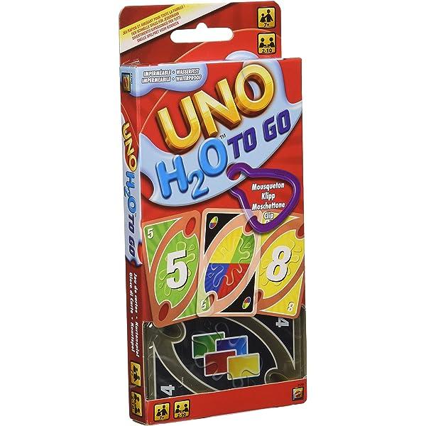 Mattel Games UNO Deluxe, juego de cartas (Mattel K0888 ...