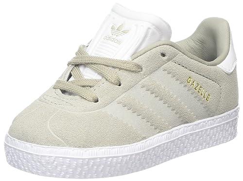 sports shoes 66044 b1d6e adidas Gazelle I, Scarpe da Fitness Unisex-Bambini, Multicolore  SesamoFtwbla 000, 26 EU Amazon.it Scarpe e borse