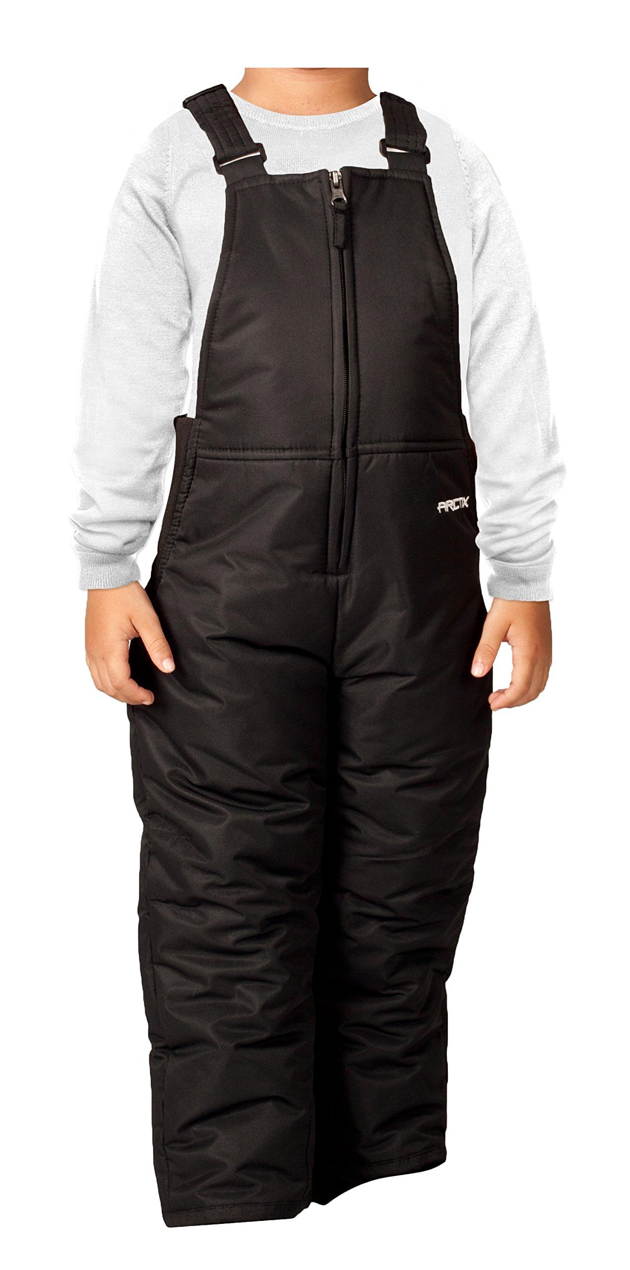 Arctix Infant-Toddler Chest High Snow Bib Overalls, Black, 3T by Arctix