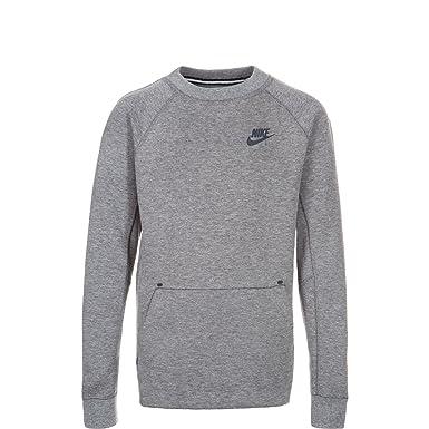 de5d1053b019 Amazon.com  NIKE Tech Fleece Big Kids  (Boys ) Crew Sweatshirt ...