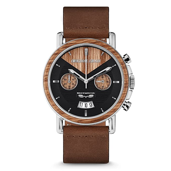 Original grain wood wrist watch
