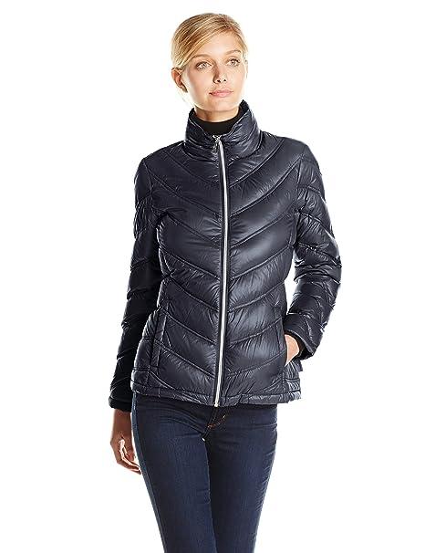 Calvin Klein - Chamarra Ligera para Mujer  Amazon.com.mx  Ropa ... ce7f5c458d2e