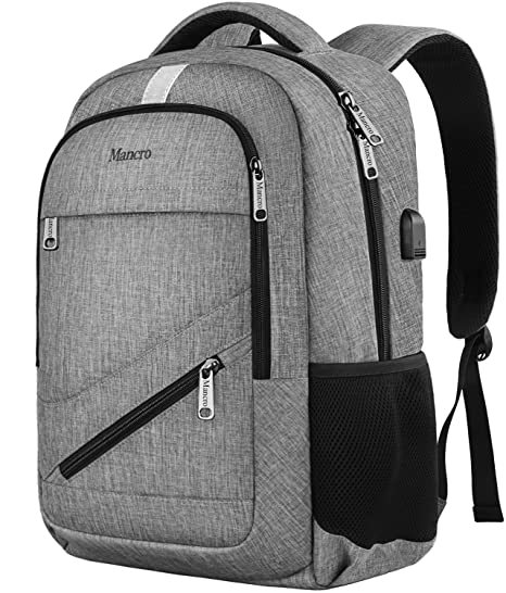 9da5d6c42 Travel Laptop Backpack, Anti Theft Backpack with USB Charging Port for Men  and Women,