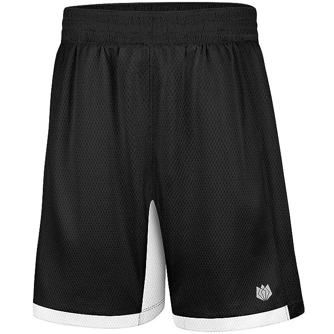 Amazon.com: FitsT4 - Pantalones cortos de baloncesto con ...