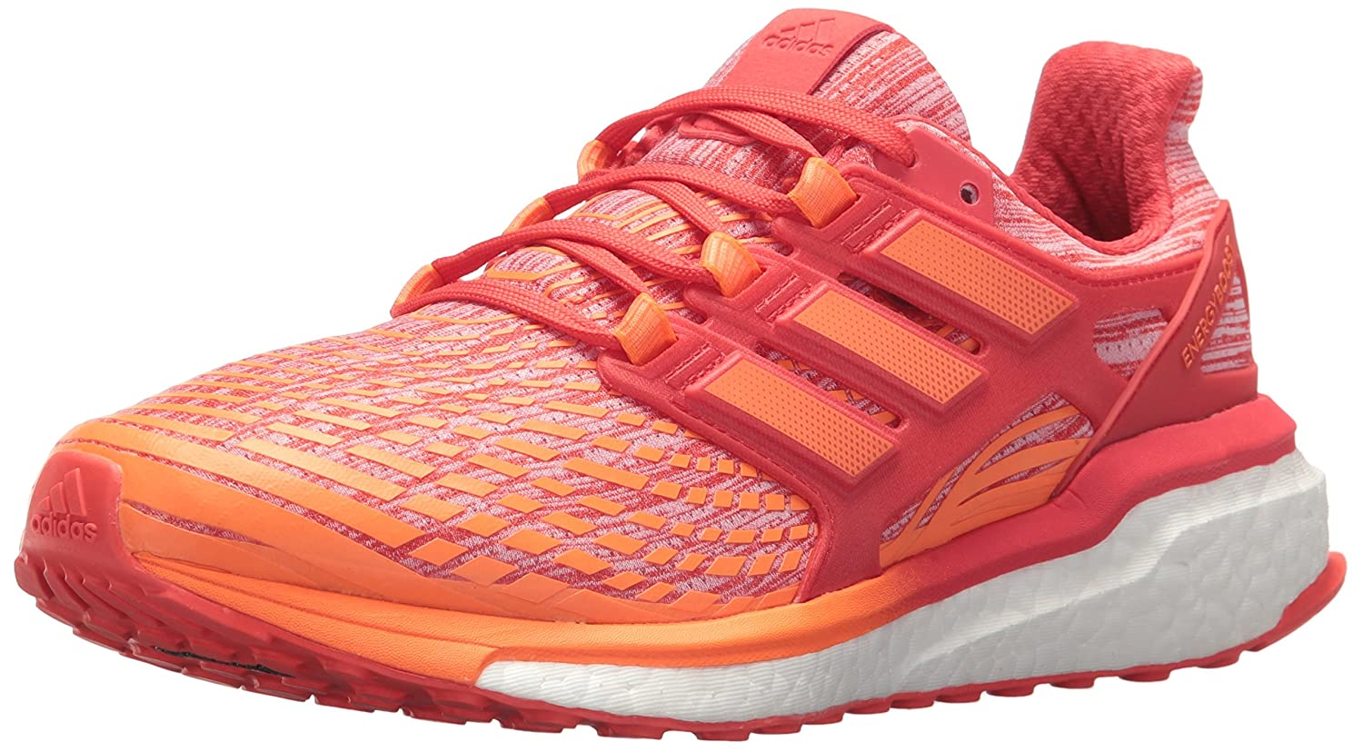 adidas Women's Energy Boost W Running Shoe B071VSYWVN 6 B(M) US|Hi-res Orange/Hi-res Orange/Hi-res Red