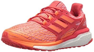 competitive price dca9a 6a6df adidas Womens Energy Boost w Running Shoe, Orangehi-res red, 5