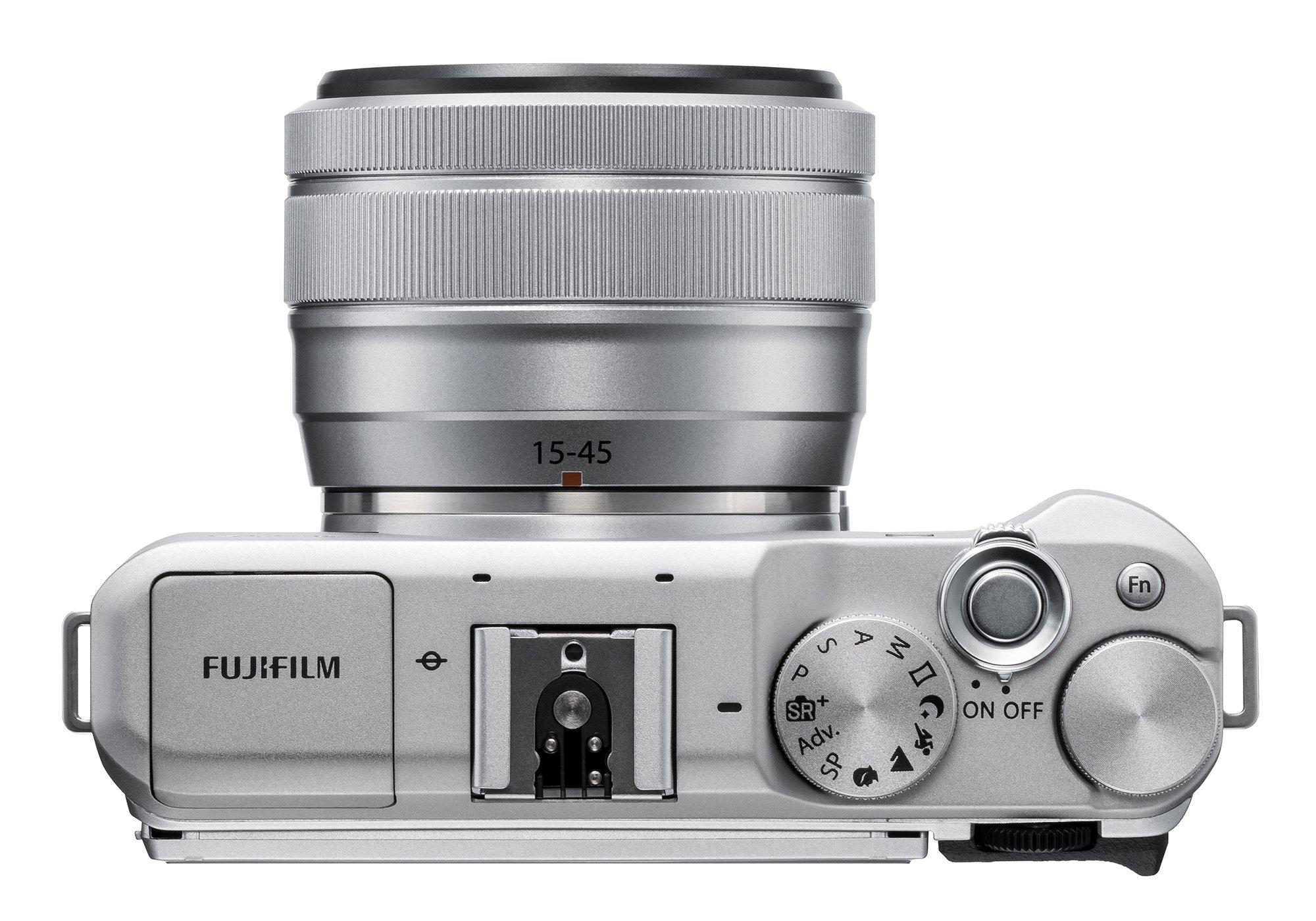 Fujifilm X-A5 Mirrorless Digital Camera w/XC15-45mmF3.5-5.6 OIS PZ Lens - Silver by Fujifilm (Image #6)