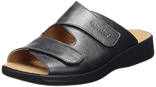 MONICA, Weite G - Mules Mujer, Color Gris, Talla 37.5 Ganter