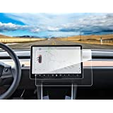 Topfit Tempered Glass Touch Screen Protector Compatible Tesla Model 3