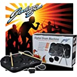 Johnny Brook Tabletop Digital Percussion Drum Kit 7 Touch Sensitive Drum Pads with Record and Playback Function