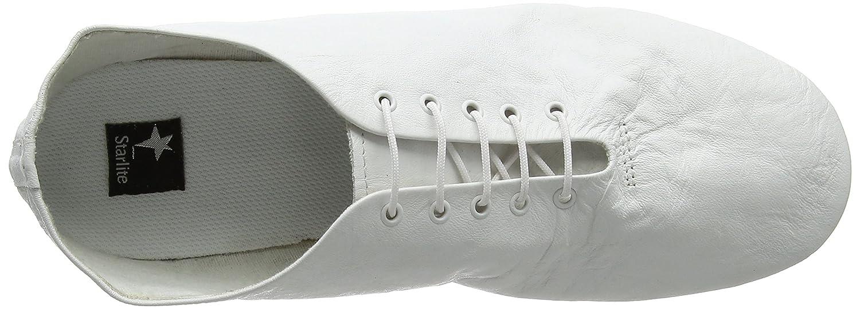 Starlite - Chaussures De Danse En Cuir Pour Les Femmes, La Couleur Blanche, La Taille De L'enfant 11,5 Royaume-uni