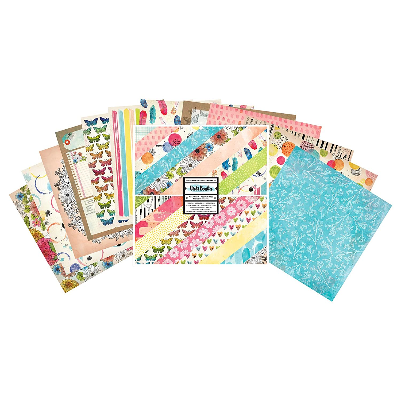 Vicki Boutin 346537 Paper Pad, Multi American Crafts