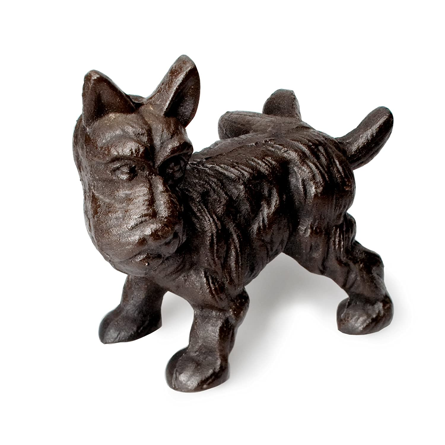 Amazon Abbott Collection Brown Scottie Dog Stopper Home Kitchen