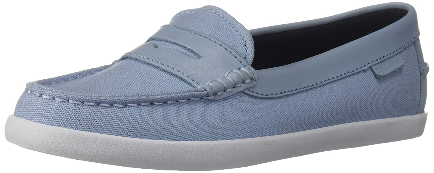 Cole Haan Women's Pinch Weekender Penny Loafer B07CKKNVDB 10.5 B(M) US|Chambray Blue Canvas/Chambray