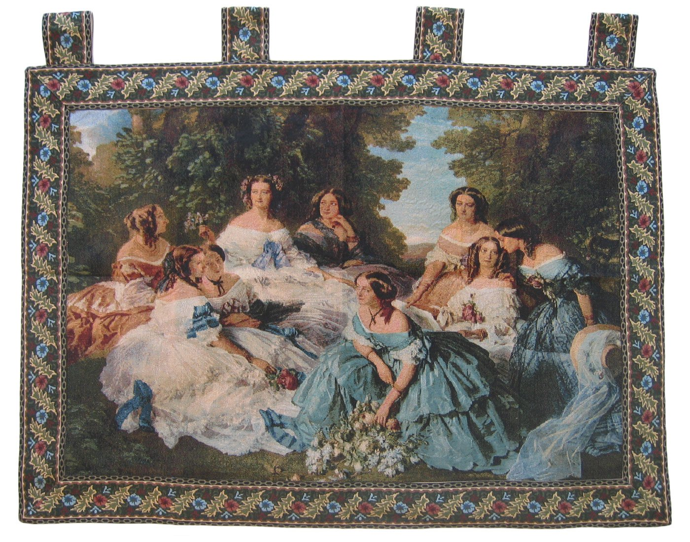36 by 50-Inch DaDa Bedding Collection Inc. DaDa Bedding WH-11630 Classic French Rococo Woven Tapestry Wall Hanging