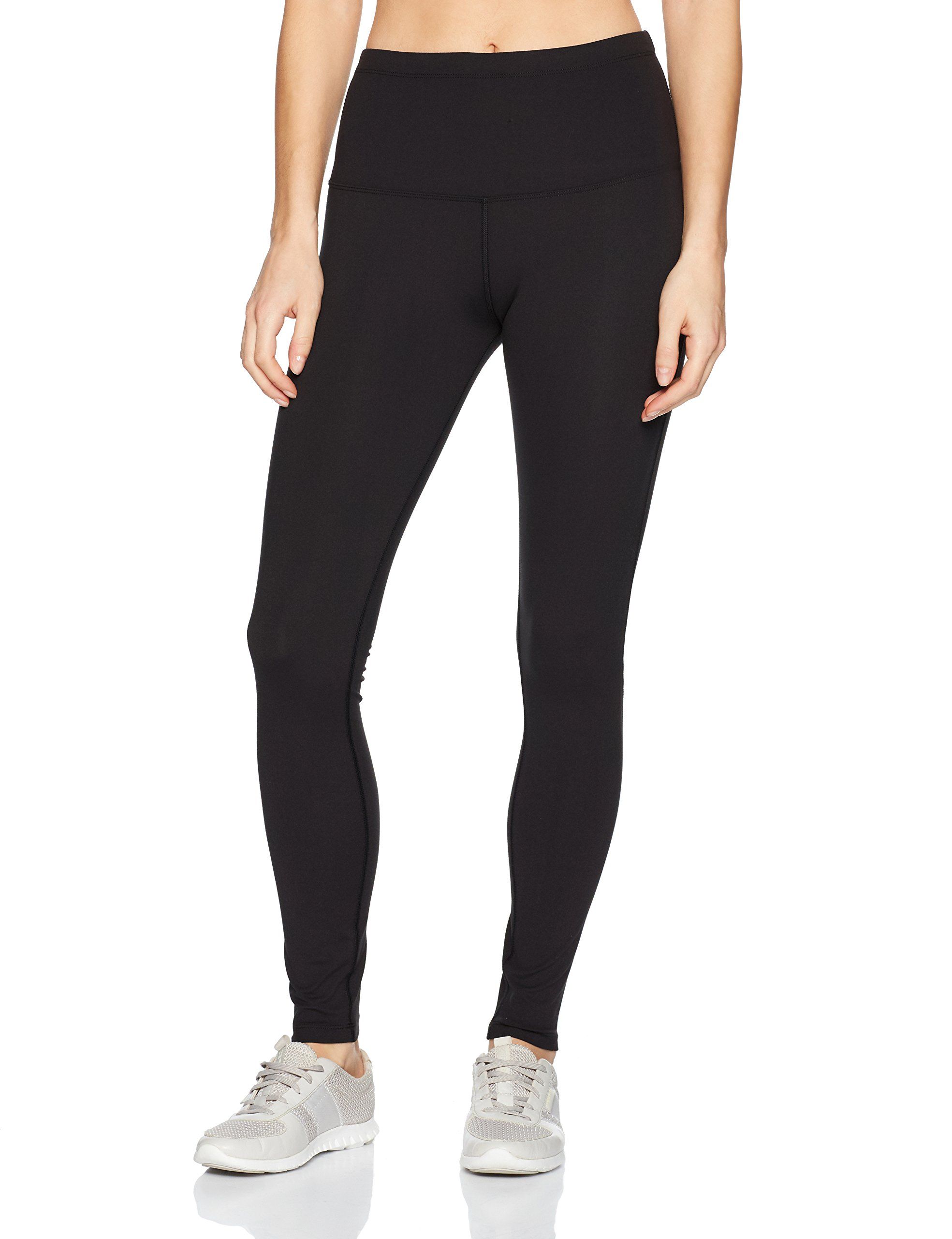 Lorna Jane Womens Nothing 2 C Here Full Legnth tight, Black, Large