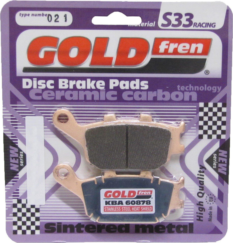 Goldfren S33-021, VD163, FA174, FDB754, SBS670 (Pair) My Moto Parts