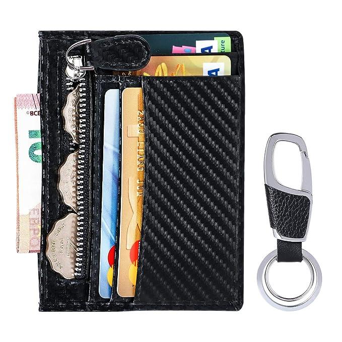 flintronic® Cartera de Tarjeta de Crédito, Portatarjetas de ...