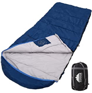 Winter XL Hooded Sleeping Bag With Compression Sack