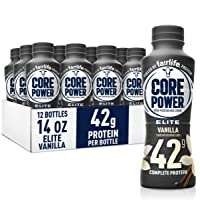 Fairlife Core Power Elite High Protein Shake (42g), Vanilla, Ready To Drink for...