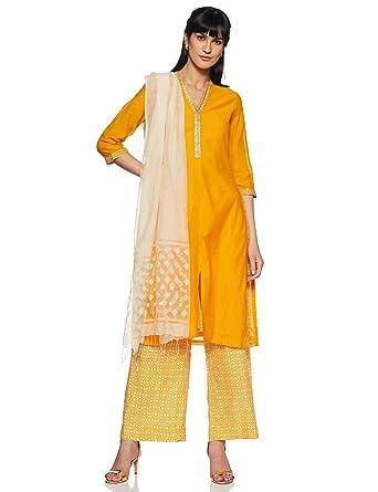 4a16c8d16 BIBA Women's Angrakha Salwar Suit: Amazon.in: Clothing & Accessories