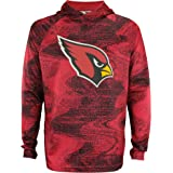 Zubaz NFL Men's Static Body Performance French Terry Hoodie, Team Variation