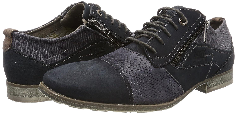 Bugatti Men Lace-Up Shoes Blue (Blau) 312110041500-1000