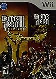 Dual Pack Guitar Hero III and Guitar Hero Aerosmith - Nintendo Wii