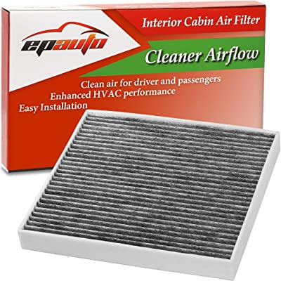 EPAuto CP809 (CF11809) Replacement for Cadillac/Chevrolet/GMC Premium Cabin Air Filter includes Activated Carbon: Automotive [5Bkhe0413940]