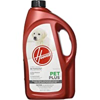 Hoover PETPLUS Concentrated Formula, 64oz Pet Stain and Odor Remover, AH30320, 64 oz, Red, 64 Fl Oz