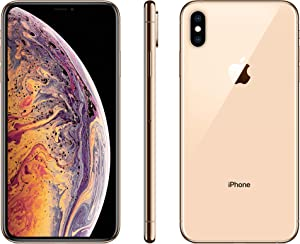 Apple iPhone XS Max, 64GB, Gold - For T-Mobile (Renewed)